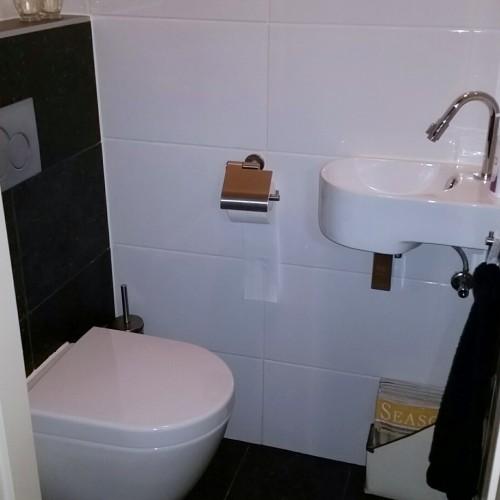 14 - Renovatie toilet en badkamer te Ede